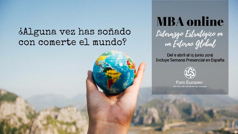 Doble Titulación MBA Liderazgo Estratégico (online) - FORO EUROPEO