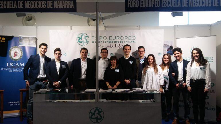 Salón Estudiante_Equipo comercial Foro Europeo